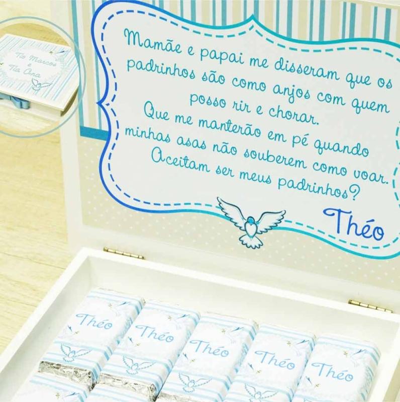Loja com Lembrança Padrinhos Batizado Cidade Ademar - Lembrancinha de Batizado para Padrinhos