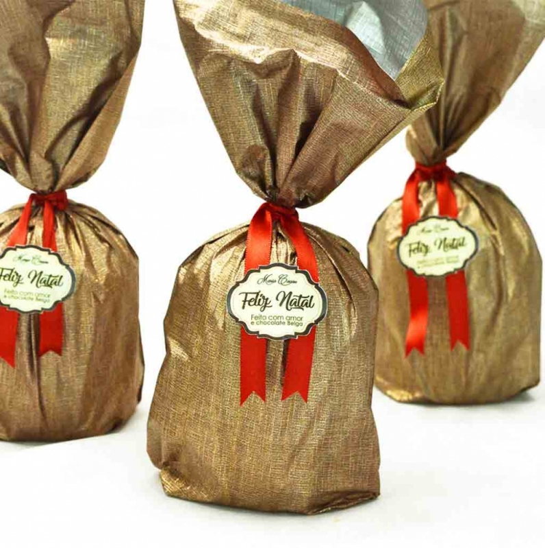 Panetone Trufado Chocolate Socorro - Panetone Trufado Bauducco