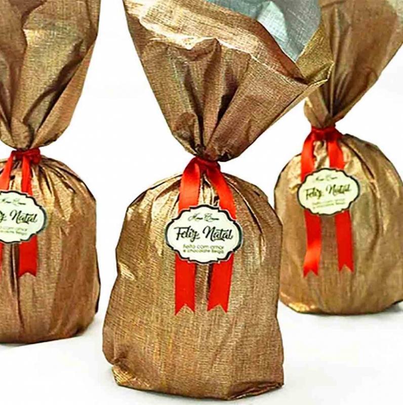 Preço de Panetone Trufado Decorado Vila Andrade - Panetone Trufado Chocolate