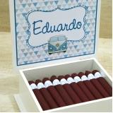charuto de chocolate lembrança de maternidade São Caetano do Sul