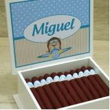 preço de charuto de chocolate personalizado Vila Mazzei