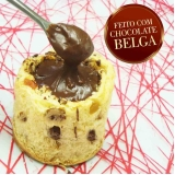 preço de panetone trufado chocolate Louveira